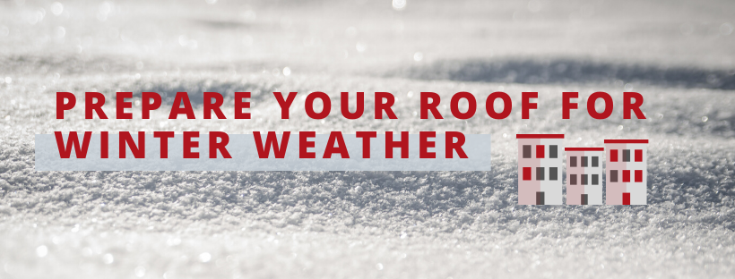protect commercial roof from winter weather