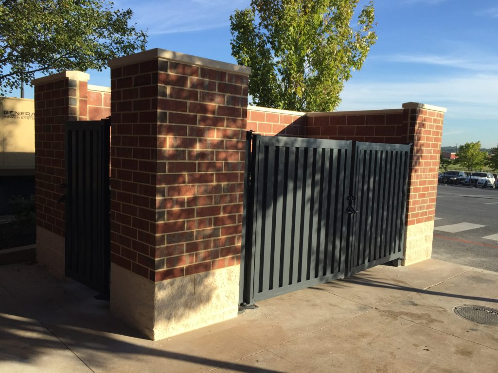 dumpster enclosure gate by kautz construction