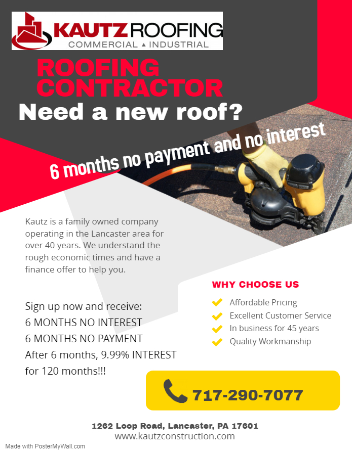 deal on roofing contractor
