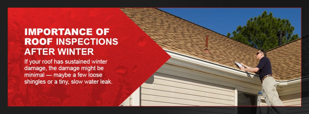 importance of spring roof inspections