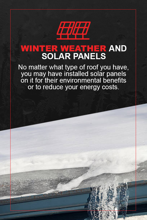 effects of winter weather on solar panels